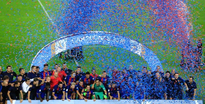 رسميا ..برشلونة يعلن تعاقده مع حارس اياكس