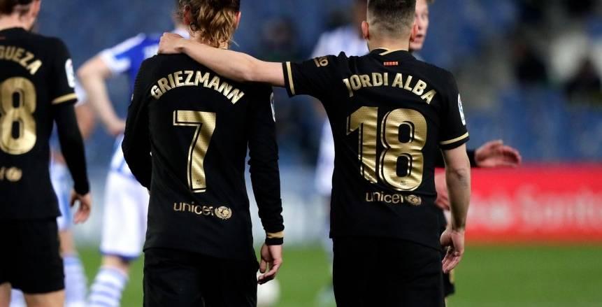 برشلونة يسحق ريال سوسيداد بسداسية في الدوري الإسباني «فيديو»