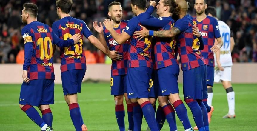 برشلونة يفوز على ألافيس برباعية في الدوري الإسباني