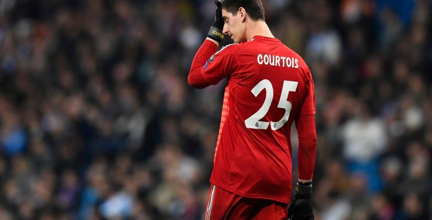 """نتائج ثقيلة وأرقام سلبية بالجملة في مشوار """"كارثي"""" لكورتوا مع ريال مدريد"""