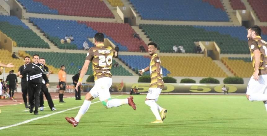 بالفيديو| أحمد جمعة يفتتح أول أهدافه مع أحد السعودي
