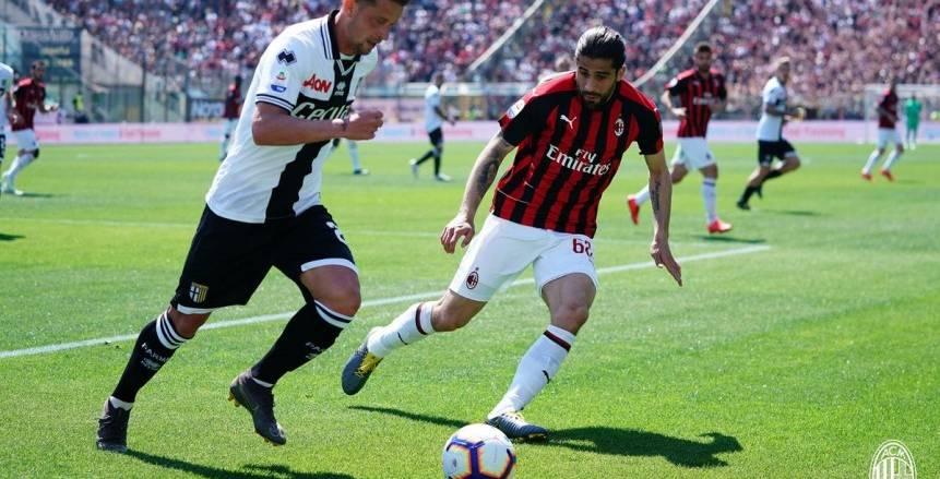 بالفيديو.. ميلان يسقط في فخ بارما بالدوري الإيطالي