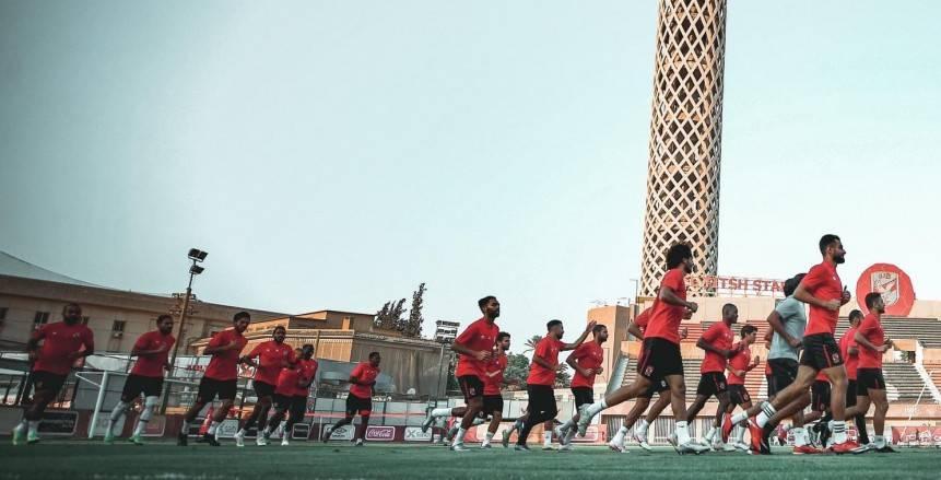 برنامج الأهلي قبل مواجهة الوداد المغربي: 5 تمرينات بدون راحة