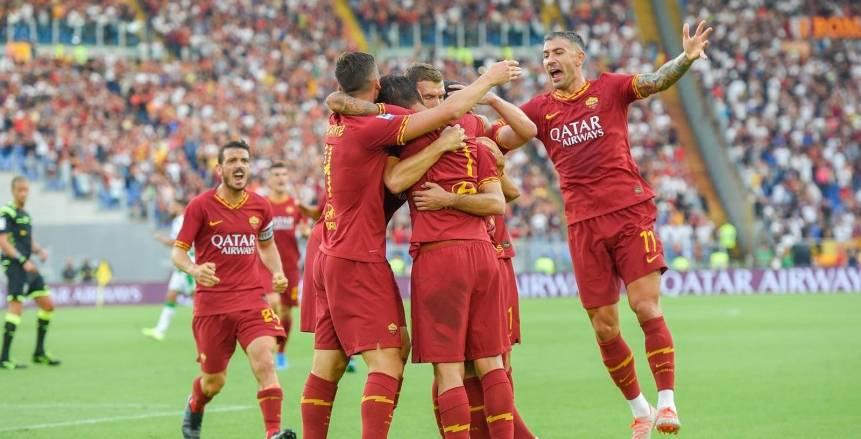 روما يفوز على ساسولو برباعية