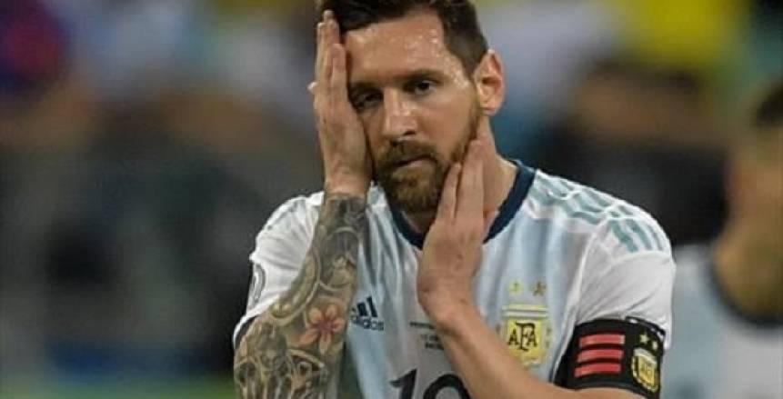 ميسي على رأس قائمة الأرجنتين لمواجهتي البرازيل وأوروجواي