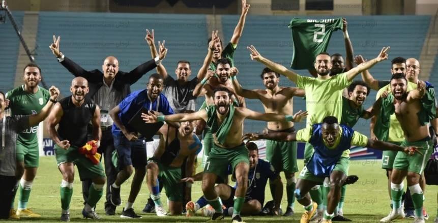 احتفالات سكندرية فى تونس بعد تأهل «الاتحاد»
