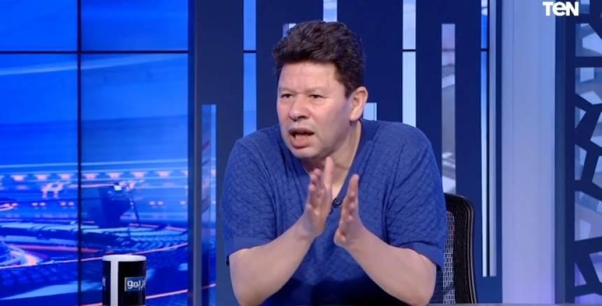 رضا عبدالعال: «أشرف قاسم الدكر الوحيد في الزمالك اللي وقف أمام ساسي»
