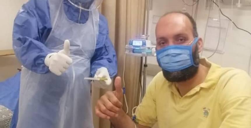 طبيب أهلاوي يعالج نجم سلة الزمالك المصاب بكورونا