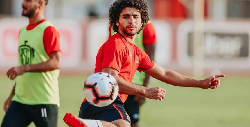 74 دقيقة حصيلة مشاركات محمد محمود مع الأهلي في 645 يوما بسبب الإصابات