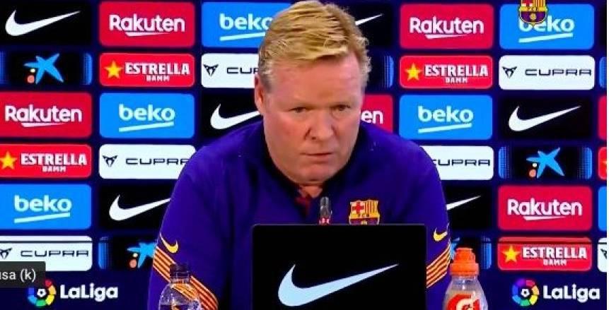 4 مباريات تحسم مصير كومان مع برشلونة بعد التعادل مع غرناطة