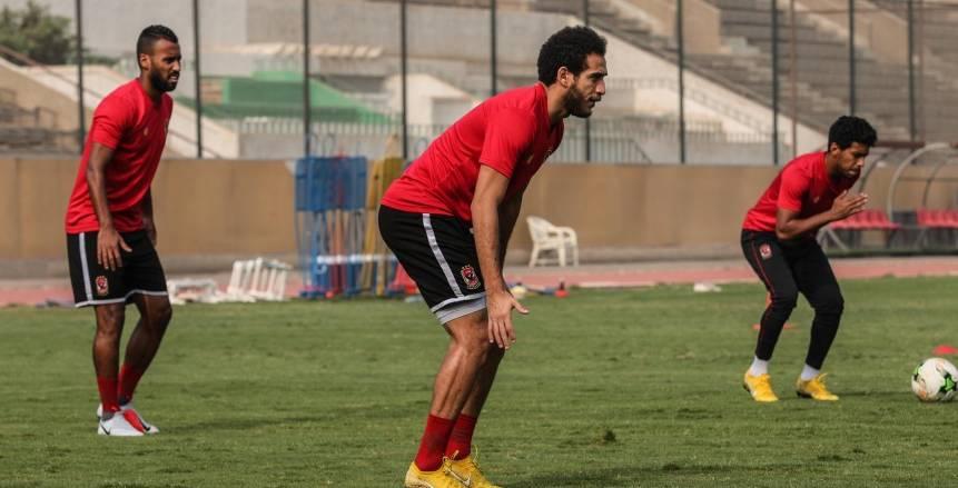 الأهلي يمنح هشام محمد راحة من التدريبات لمدة 24 ساعة