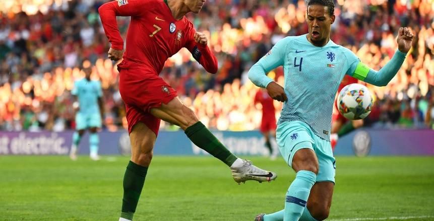 فان دايك عن مواجهة كريستيانو رونالدو : البرتغال ليست لاعبا واحدا