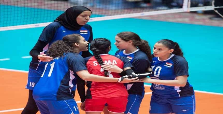مصر تواجه أمريكا.. مواعيد وملاعب دور الـ16 لبطولة اللعالم لناشئات الطائرة