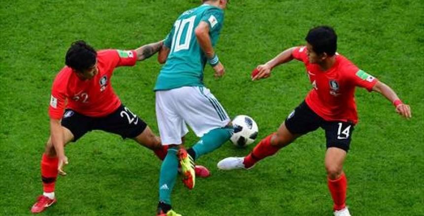 ألمانيا تودع المونديال من الدور الأول بالهزيمة أمام كوريا