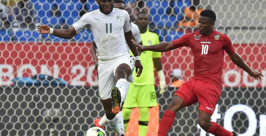 مباراة ساحل العاج وتوجو بكأس الأمم الأفريقية 2017