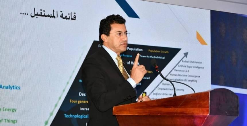 وزير الرياضة يحضر افتتاح المؤتمر العلمي الدولي في علوم الرياضة