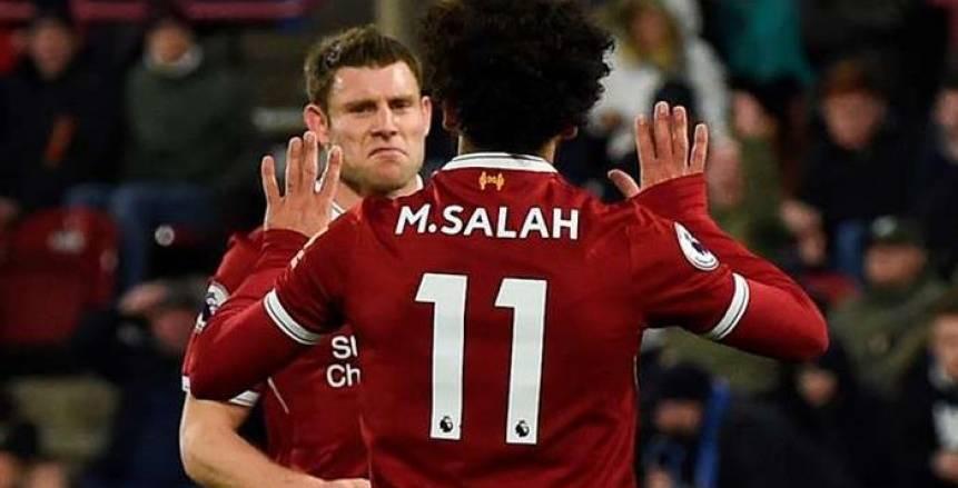 قواعد ليفربول تنصف ميلنر على محمد صلاح في واقعة ضربة الجزاء أمام كارديف