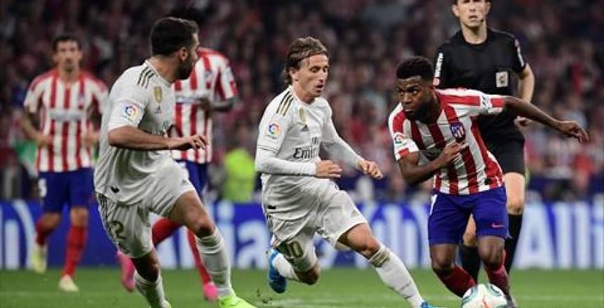 التعادل السلبي يحسم ريال مدريد وأتليتكو مدريد