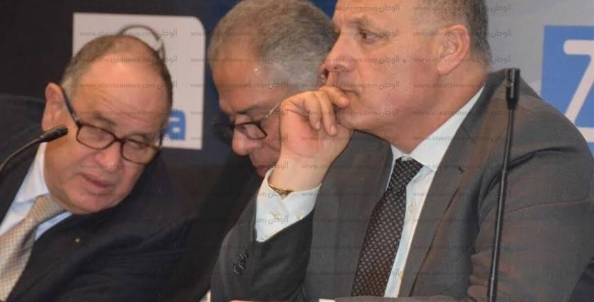 المؤتمر الصحفى لاتحاد الكرة مع رؤساء الأندية