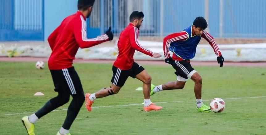 مران بيراميدز استعدادًا لمواجهة مصر المقاصة