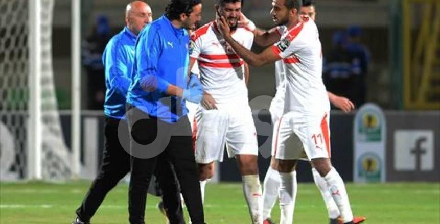 بالفيديو| فرجاني ساسي: سأحتفل مع الزمالك بلقب الكونفدرالية في مصر