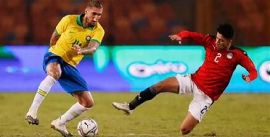 قناة مفتوحة تنقل مباراة مصر والبرازيل في ربع نهائي الأولمبياد