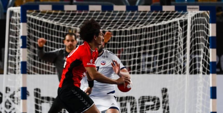 ملخص مباراة افتتاح بطولة العالم لكرة اليد بين مصر وتشيلي «فيديو»