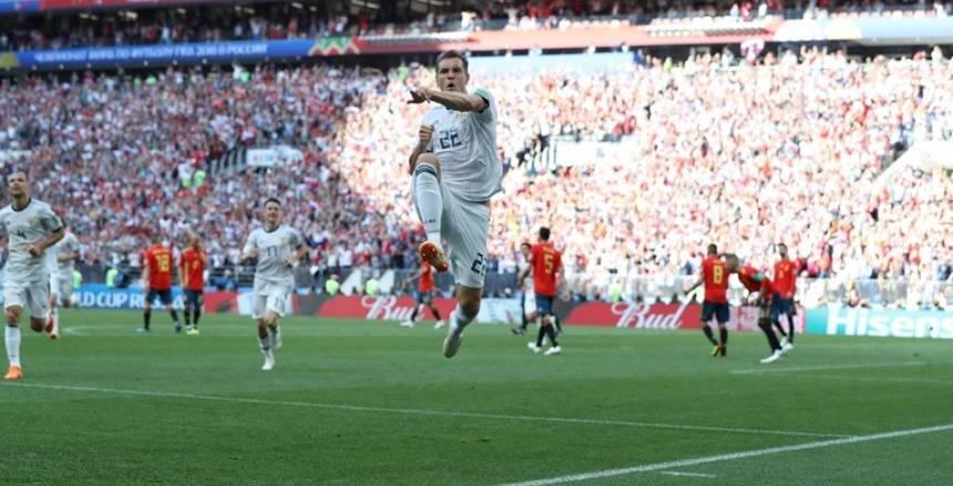 بالفيديو| روسيا إلى ربع نهائي المونديال للمرة الأولى في تاريخها على حساب إسبانيا