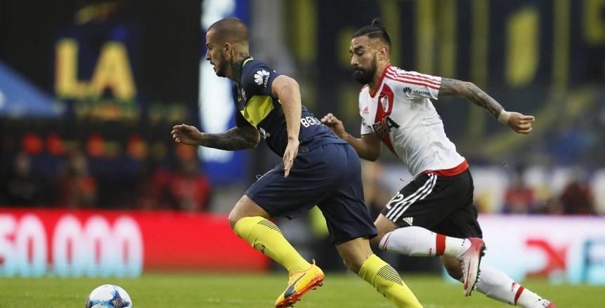 ريفربلايت يحقق الفوز على بوكا جونيورز ويشعل الدوري الأرجنتيني
