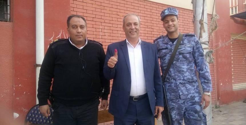 المتحدث الرسمي للمصري يدلي بصوته في الانتخابات الرئاسية