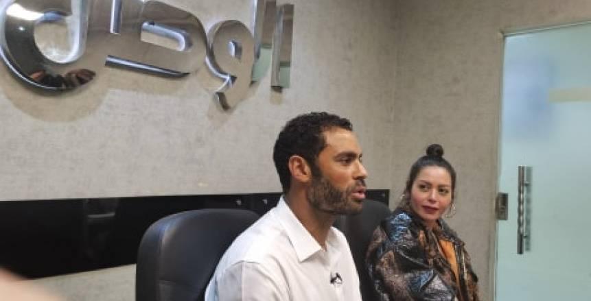 محمد عبدالمنصف في ندوة «الوطن»: مباراة الـ 6-1 سر استمراري بالملاعب