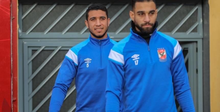 تدريبات النادي الأهلي الأخيرة قبل مواجهة إف سي مصر