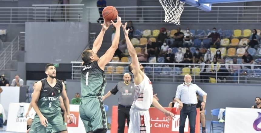 الاتحاد السكندري يهزم الزمالك في أول لقاءات نهائي دوري سوبر السلة