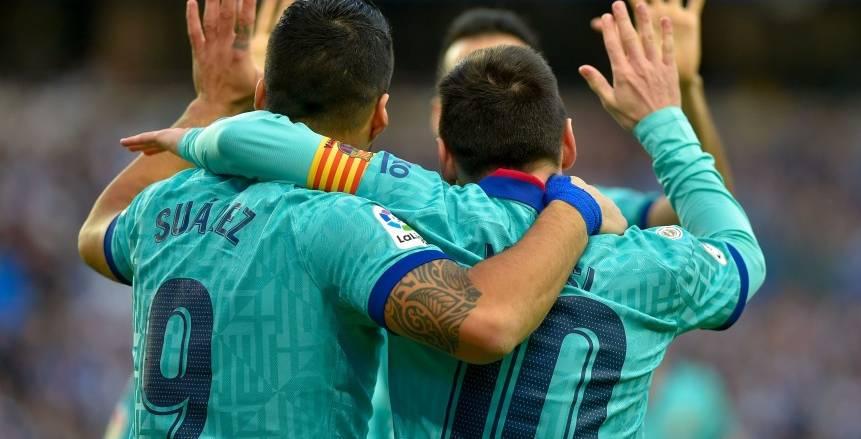 التعادل الإيجابي يحسم مواجهة برشلونة وريال سوسيداد في الدوري الإسباني
