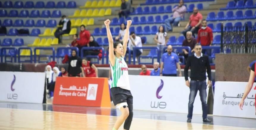 سبورتنج يحسم دوري سوبر السلة للسيدات بعد الفوز ضد الأهلي بمباراة الحسم