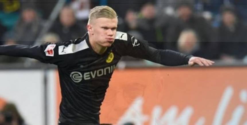 هالاند يسجل هدفين في اكتساح دورتموند لكولن بالدوري الألماني (فيديو)