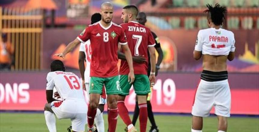 زياش يعود لتدريبات المغرب استعدادا لمواجهة كوت ديفوار