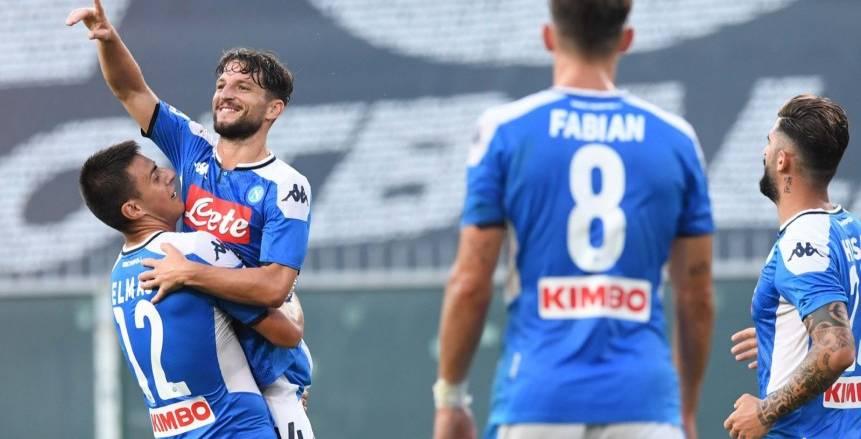 فوز نابولي ولاتسيو وهيلاس فيرونا وتعادل إنتر في الدوري الإيطالي