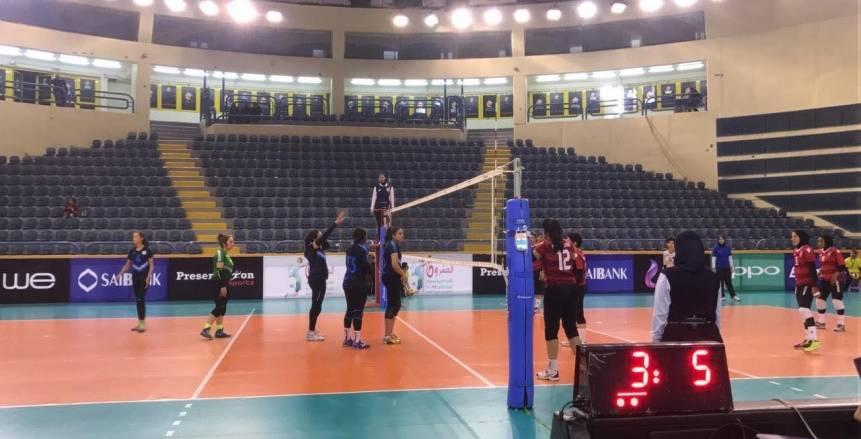 بطولة أندية السيدات العربية للطائرة| الدفاع الحسني المغربي يفوز 0/3 على المحرق البحريني
