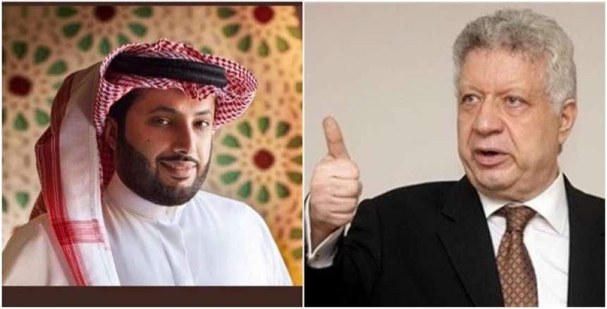 """مرتضى: """"تركي ال الشيخ وعدني بخروج قناة الزمالك قريبا"""""""