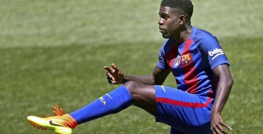 برشلونة يقرر تجديد عقد «أومتيتي»