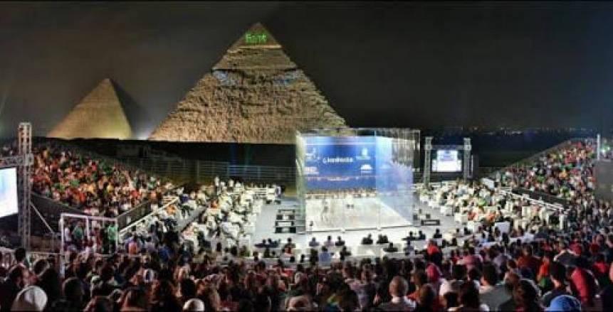 عمرو منسي: ملعب الإسكواش الزجاجي أمام الأهرامات حلم كل الأجيال
