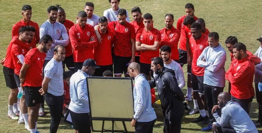 موسيماني يمنح لاعبي الأهلي راحة 24 ساعة بعد الهزيمة أمام غزل المحلة