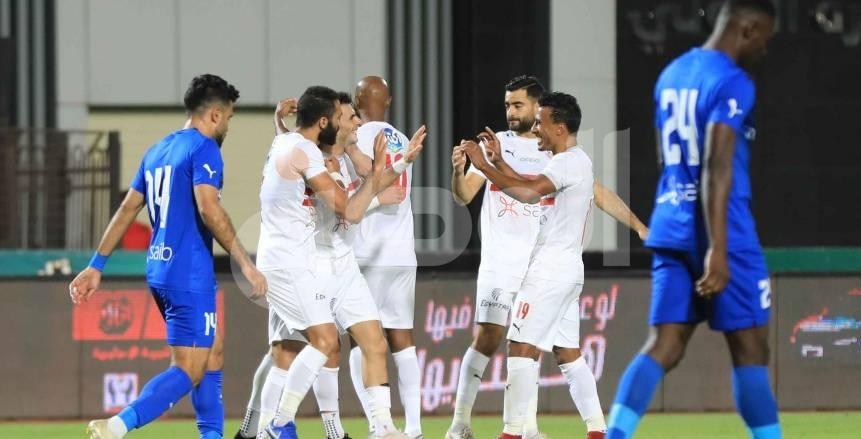 شيكابالا وأشرف بن شرقي على رأس قائمة الزمالك ضد المقاصة بكأس مصر