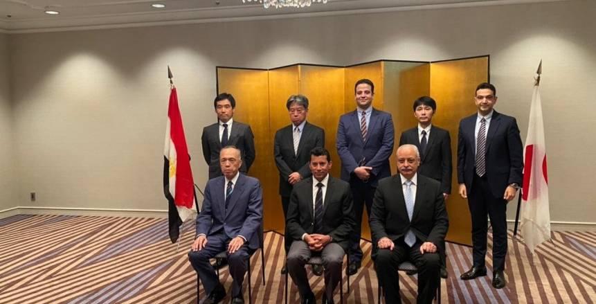 وزير الرياضة يوقع بروتوكول تعاون لتعليم الفنون اليابانية بمراكز الشباب