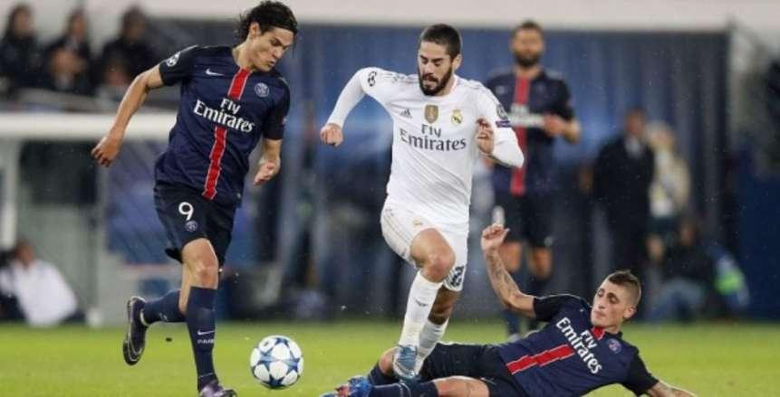 موعد مباراة ريال مدريد ضد باريس سان جيرمان والقنوات الناقلة