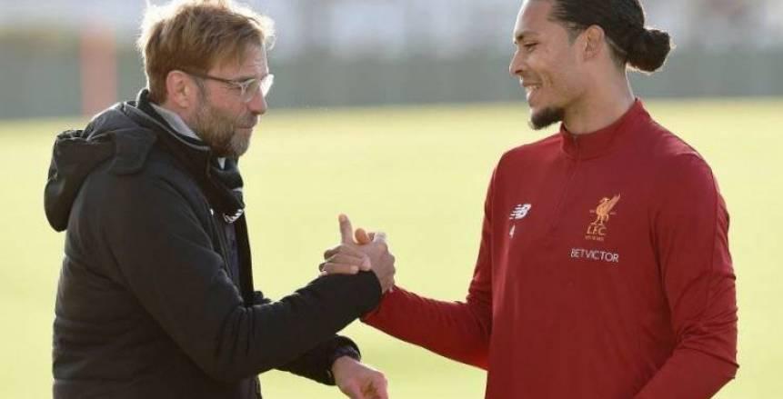يورجن كلوب: الهولندي فان دايك لن يعود للمشاركة مع ليفربول قريبا