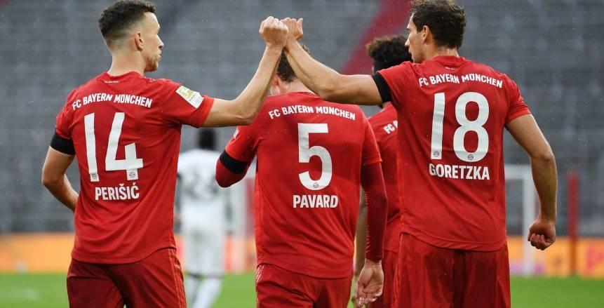 بايرن ميونيخ يسقط فرانكفورت بخماسية في الدوري الألماني (فيديو)