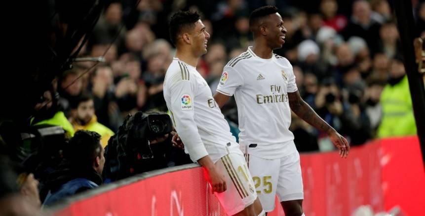 ريال مدريد يتأخر بهدف أمام سوسيداد في الشوط الأول