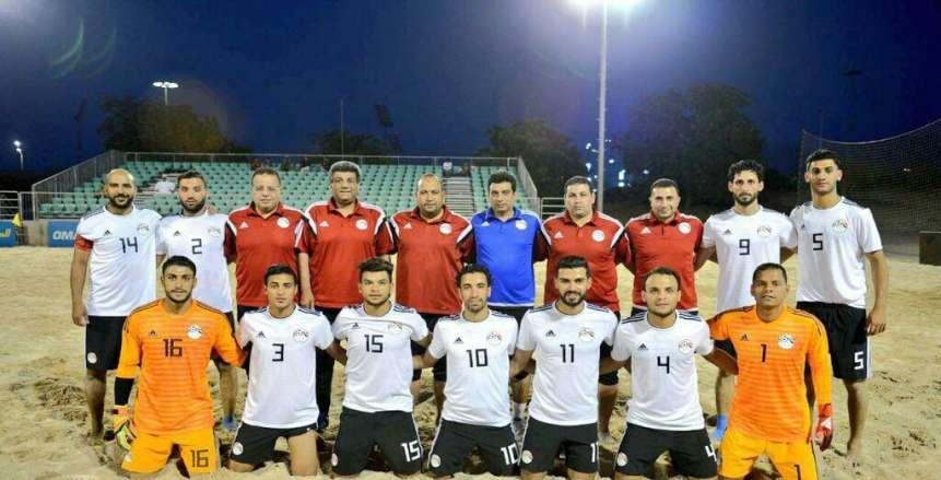 الاتحاد المصري لكرة القدم يوجه الشكر لمدرب منتخب الشاطئية